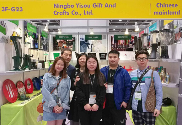 Ningbo Yisou Gift And Crafts Co., Ltd. blooms with unique charm at Hong Kong Houseware Fair 2018